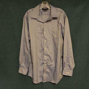 Tommy Hilfiger Button Down Dress Shirt Blue
